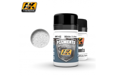 White Ashes Pigment - AK142