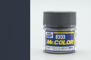 Mr. Color - C333: Extra tmavá morská sivá BS381C / 640 pololesklá