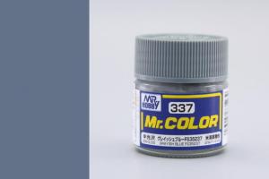 Mr. Color - C337: FS35237 sivastá modrá pololesklá