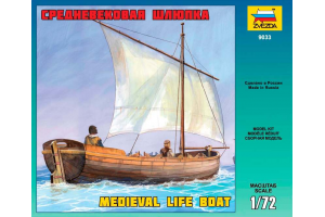 Medieval Life Boat (1:72) - 9033