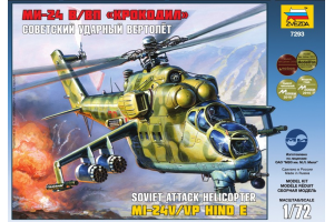 MIL MI-24V/VP Hind E (1:72) - 7293