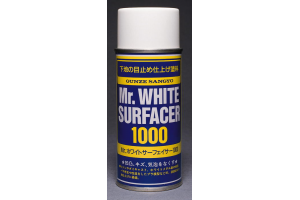 Mr. White Surfacer 1000 - striekacia tmel biely 170 ml - B511