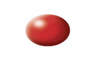 330: hedvábná ohnivě rudá (fiery red silk) - Aqua