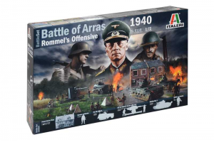 WWII BATTLESET - Battle of Arras 1940 - Rommel's Offensive (1:72) - 6118
