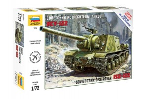 Soviet Tank Destroyer ISU-122  (1:72) - 5054