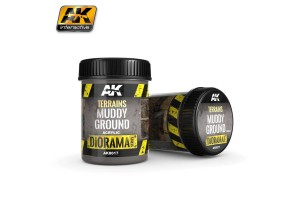 Terrains Muddy Ground 250ml - AK8017