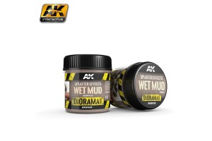 Splatter Effects Wet Mud 100ml - AK8026