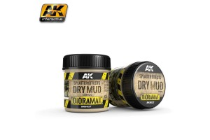 Splatter Effects Dry Mud 100ml - AK8027