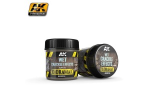 Wet Crackle Effects 100ml - AK8034