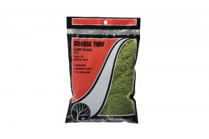 Hrubý svetlý trávnik (Coarse Turf Light Green Bag) - T63
