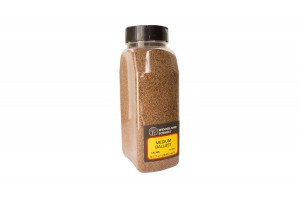 Jemný hnedý štrk (Brown Fine Ballast Shaker) - B1372