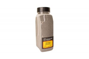 Jemný svetlošedý štrk (Light Gray Fine Ballast Shaker) - B1374