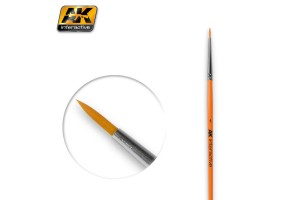 ROUND BRUSH 1 SYNTHETIC - AK603