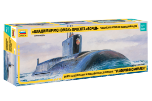 "Borey-Class Nuclear Submarine ""VLADIMIR MONOMAKH"" (1:350) - 9058"