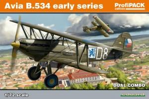 Avia B-534 ranej verzia DUAL COMBO (1:72) - 70103