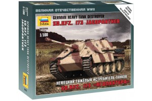 Wargames (WWII) - Sd.Kfz.173 Jagdpanther German Heavy Tank Destroyer (1:100) - 6183