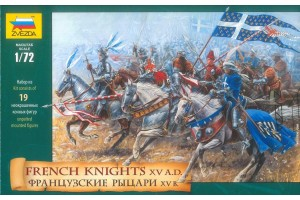 Wargames (AoB) - French Knights (re-release) (1:72) - 8036