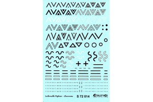 Stencils - Luftwaffe Chevrons (1:72) - S72014