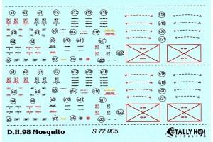 Stencils - Mosquito (1:72) - S72005