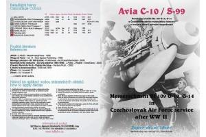 Obtlačky - Avia S 99 / ME-109G - 10 (1:32) - 32011