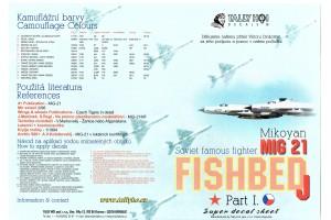 Obtlačky - Mig-21 MF, SM, R (1:32) - 32003