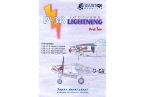 Obtlačky - P-38 Lighting, part 2 (1:48) - 48037