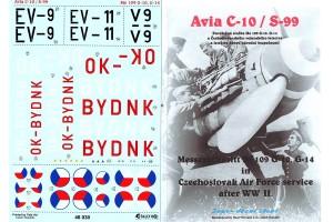 Obtlačky - Avia S-99 / Me-109G - 10 (1:48) - 48030