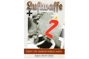 Obtlačky - Luftwaffe Code numbers (1:48) - 48028