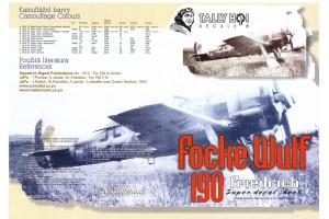 Obtlačky - FW-190, F8 (1:48) - 48024