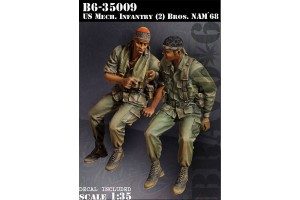 U.S. Mech Infantry Bros - 35009