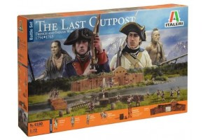 THE LAST OUTPOST 1754-1763 FRENCH AND INDIAN (1:72) - 6180