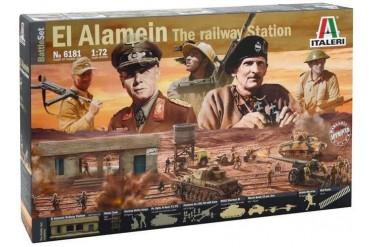 EL ALAMEIN WAR - BATTLESET (1:72) - 6181