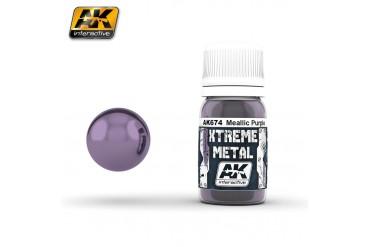 674: XTREME METAL METALLIC PURPLE