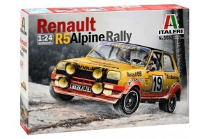 RENAULT R5 ALPINE RALLY (1:24) - 3652