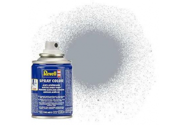 Barva Revell ve spreji - 34190: metalická stříbrná (silver metallic)