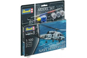 SH-60 Navy Helicopter (1:100) - 64955