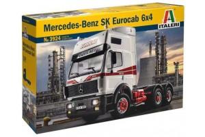 MERCEDES-BENZ SK EUROCAB 6x4 (1:24) - 3924