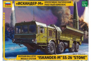 "Ballistic Missile System ""Iskander-M"" SS-26 ""STONE"" (1:72) - 5028"