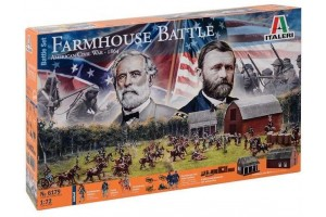 Wargames - FARMHOUSE BATTLE - AMERICAN CIVIL WAR 1864 - BATTLESET (1:72) - 6179
