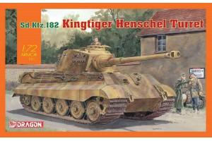 Sd.Kfz.182 Kingtiger Henschel Turret (1:72) - 7558
