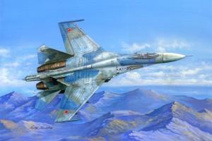 Su-27 Flanker B (1:48) - 81711