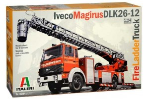 Iveco Magirus DLK 26-12 Fire Ladder Truck (1:24) - 3784