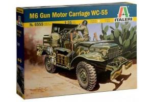 M6 GUN MOTOR CARRIAGE WC-55 (1:35) - 6555