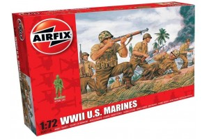 WWII US Marines (1:72) - A00716