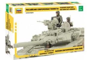 Russian Tank Crew - Combat version (1:35) - 3684