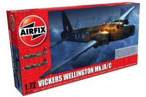 Vickers Wellington Mk.IC (1:72) - A08019