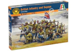 British Infantry and Sepoys (1:72) - 6187