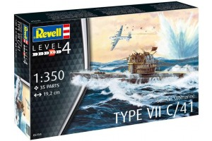 German Submarine Type VII C/41 (1:350) - 05154
