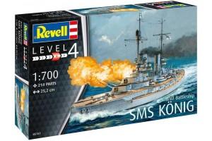 WWI Battleship SMS KÖNIG (1:700) - 05157