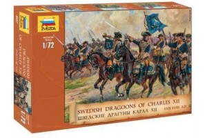 Swedish Dragoons  (re-release) (1:72) - 8057